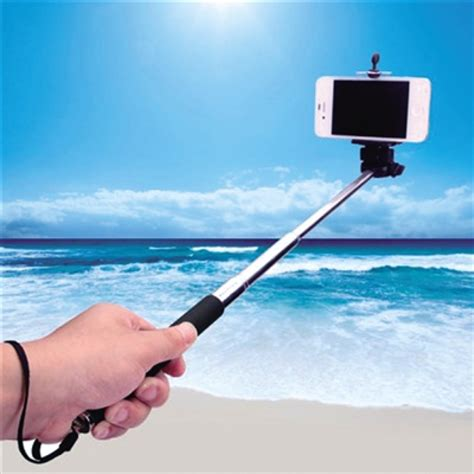 On Sale Premium Custom Selfie Stick Tongsis By Yunteng Warna Biru portable high quality selfie stick customize selfie stick label for cell phone for sale