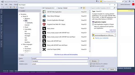 templates for visual studio 2015 project templates in visual studio 2015 visual studio