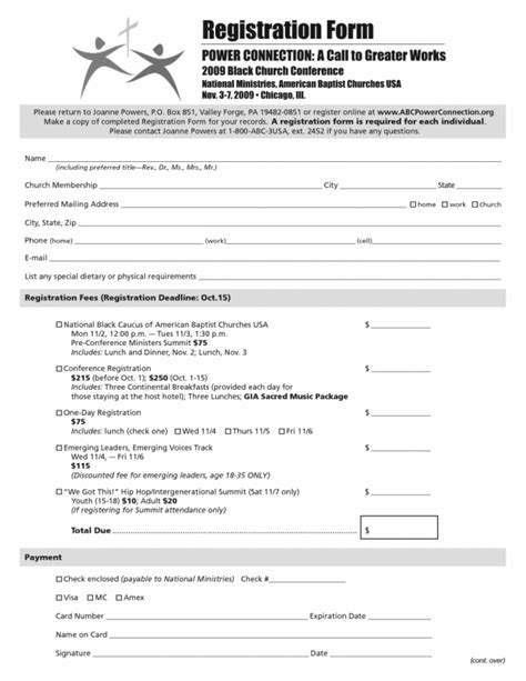 consumer registration card template printable registration form template 2 4 format ledger