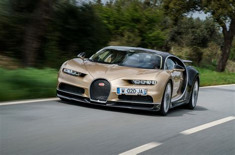 gold bugatti chiron 2018 bugatti chiron first drive review automobile magazine