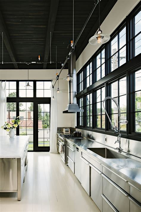 lighting ideas for your vintage industrial kitchen