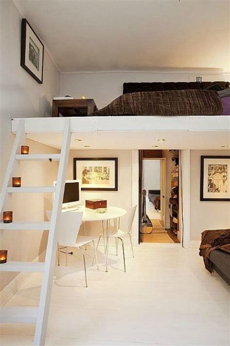 bedroom with loft 16 loft beds to make your small space feel bigger brit co