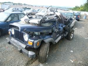 Wrecked Jeeps For Sale Salvage Jeep Wrangler 4 0l 6 2002 Pennsburg Pa 18073 Usa