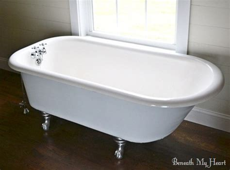 restore clawfoot bathtub how to refinish an antique claw foot tub check out my new tub beneath my heart