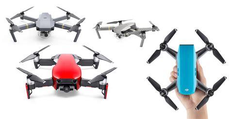 mavic air  spark  mavic pro drone comparison