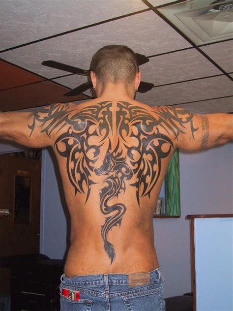 tribal dragon tattoo for men tribal tattoos for the cool collection ideas