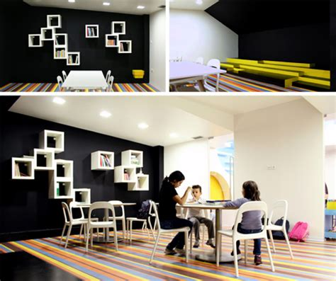 reading space bright colors and creativity define a play space for children