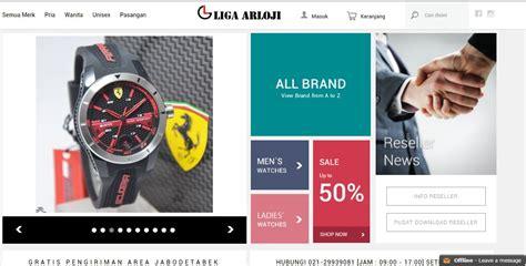 lengkapi koleksi jam tangan anda dari 5 toko ini