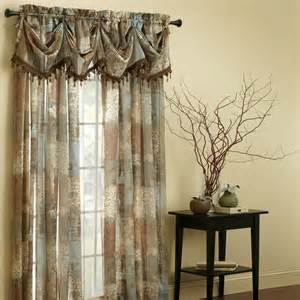 Colorful Drapes Chapel Hill By Croscill Madagascar Sheer Window Treatments
