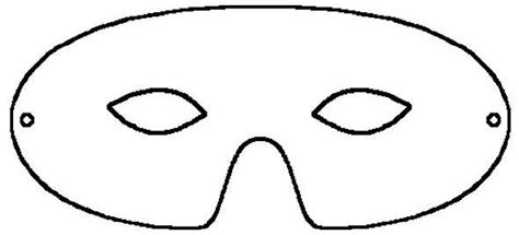 printable eye mask template get inspired 15 paper halloween costume ideas coloring