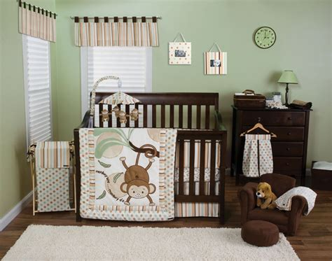 monkey nursery bedding trend lab morgan the monkey collection natural baby care