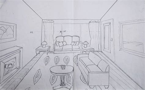 one point perspective living room how to draw a living room in one point perspective www pixshark images galleries with a