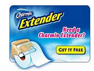 free charmin mega roll extender