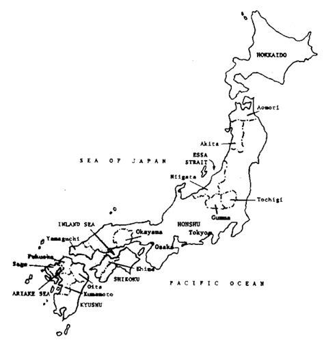 printable maps japan blank map japan printable