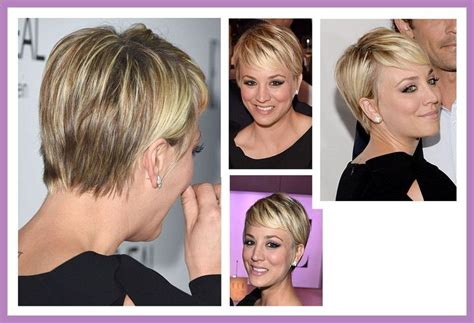 why did couco cut hair kaley cuoco pixie cut hairstyles pinterest pixie