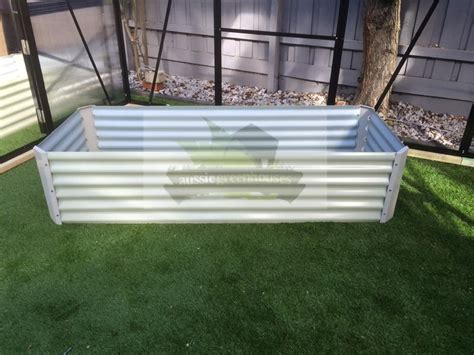 Greenhouse Planter Boxes by Greenhouse Raised Diy Garden Bed Steel Planter Box Qty 2