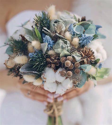 Wedding Bouquet Ideas For Winter by 21 Ultra Unique Winter Wedding Bouquets Weddingsonline