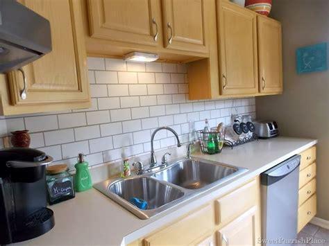 kitchen backsplash fabulous 6 painted backsplash ideas swooning over this diy painted backsplash that looks