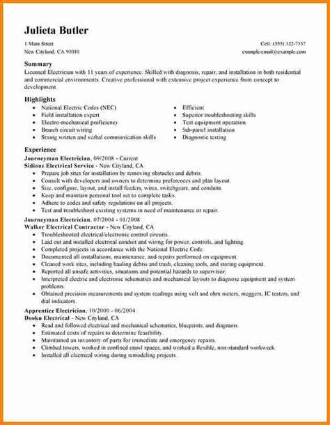 electrician resume exles industrial electrician resume sle resumecompanioncom resume