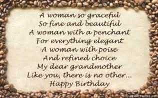 birthday poems for grandma wishesmessages com