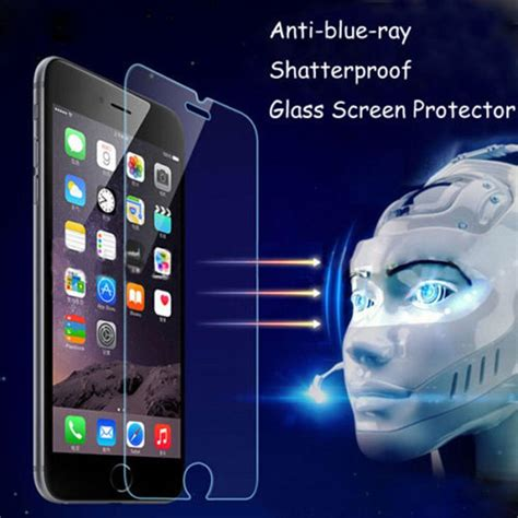 blue light screen protector 9h eyes protection anti blue light tempered glass screen