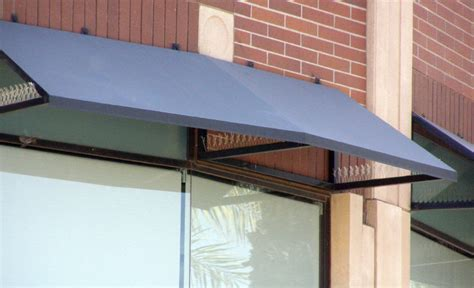 Steel Window Awnings by Steel Awnings