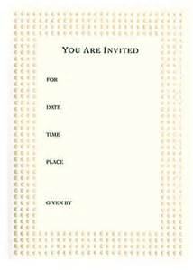white embossed dot quot you are invited quot invitation card set bridal shower special occasions