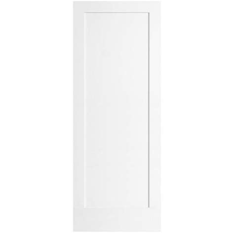 home depot white interior doors steves sons ultra 1 panel pine primed white interior door slab m64m1nnnac99 the home depot