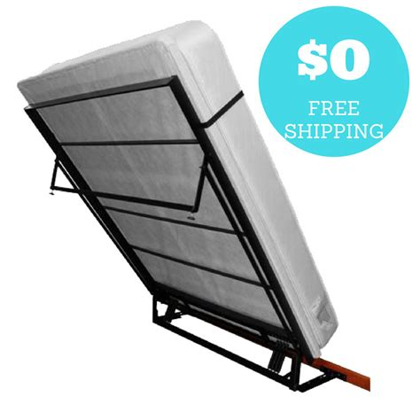 murphy bed depot wall bed frame  shipping ebay
