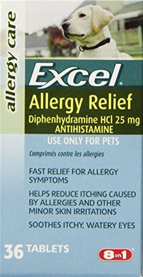 allergy relief for dogs excel allergy relief for dogs 36 count bottle deals today