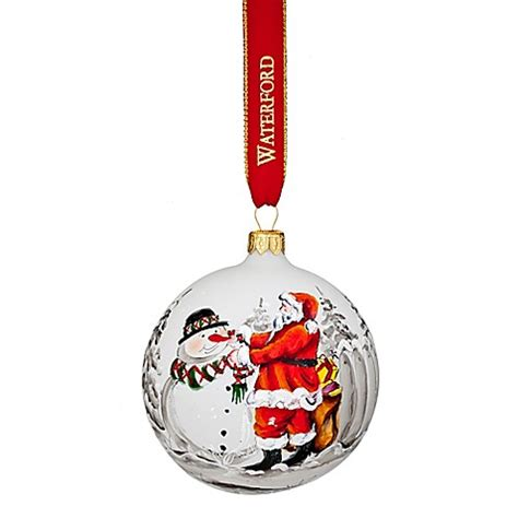 waterford heirloom small ornaments buy waterford 174 2017 heirlooms nostalgic magic of ornament from bed bath