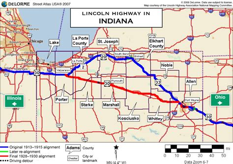 indiana road map indiana highways pictures to pin on pinsdaddy