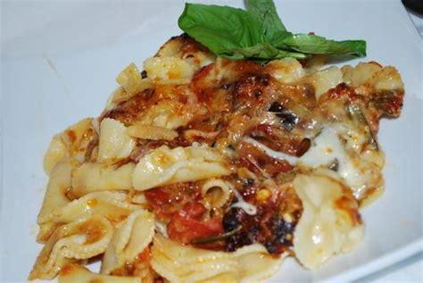 gratin de p 226 tes aux aubergines grill 233 es parmesan et chorizo paperblog