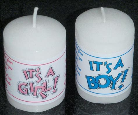Personalized Labels For Baby Shower Favors by Personalized 14 Baby Shower Votive Candle Labels Stickers