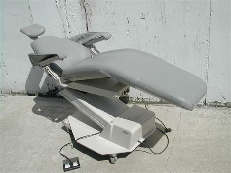 Adec Dental Chair Upholstery Kits - adec 1005 new gray upholstery pre owned dental inc