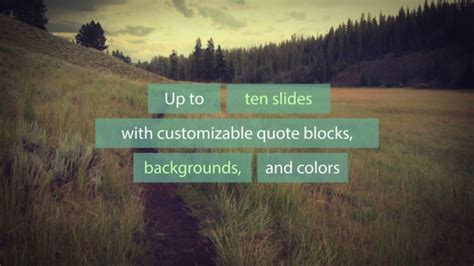 Passage Quotes Title Sequence After Effects Template After Effects Quote Template