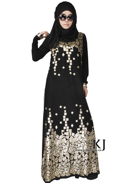 Numara Maxy Dress Mouslim Modis Gamis Islam positionering pailletten borduurwerk kant abaya