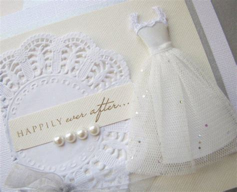 Handcrafted Wedding - koko vanilla designs a handmade wedding card