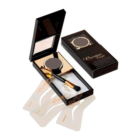 Makeup Christian christian semi permanent eyebrow makeup kit feelunique