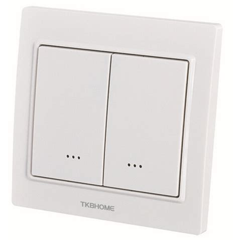 home automation 868 42mhz z wave dual wall dimmer switch