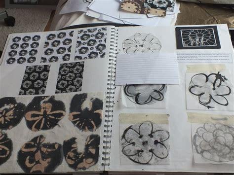 pattern sketchbook pages textiles sketchbook floral surface pattern design