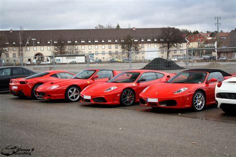 Ferrari B Blingen ferraris california f430 scuderia superamerica und