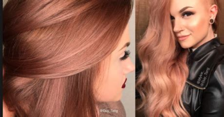colores de cabellos de moda 2016 colores de pelo de moda 2016