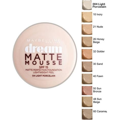 maybelline jade matte mousse make up maybelline matte mousse perfection foundation spf15