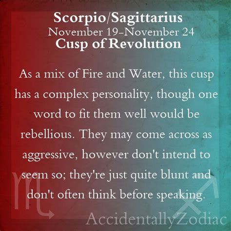 scorpio sagittarius cusp part 1 zodiac world pinterest