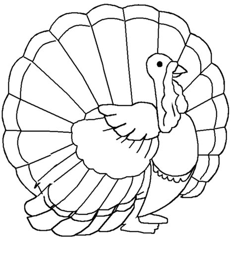 turkey coloring pages coloring town