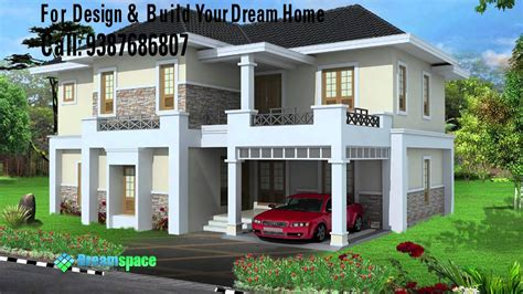 Single Floor 4 Bedroom House Plans Kerala low cost house construction with dreamspace designers