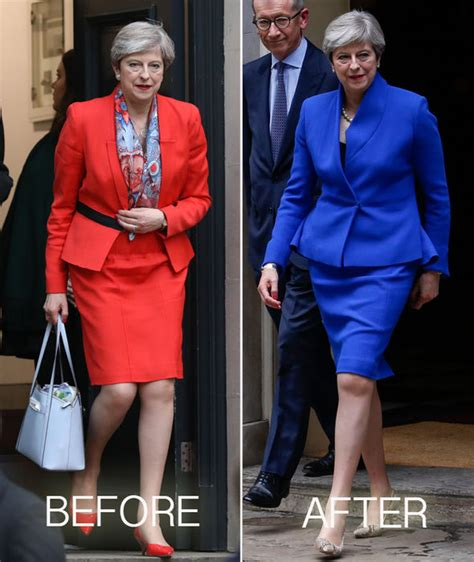 teresa caputo black white red dress general election 2017 results theresa may swaps red power