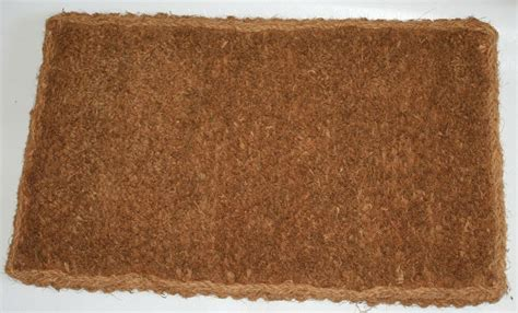 Large Coir Doormat by Various Plain Large Coir Mat 25mm Thick Doormat Ebay