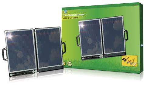 Accu Mobil 12 V 13 watt opvouwbaar zonnepaneel voor 12 volt accu